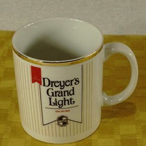 Dreyer's Grand Light ice cream coffee mug cup EUC